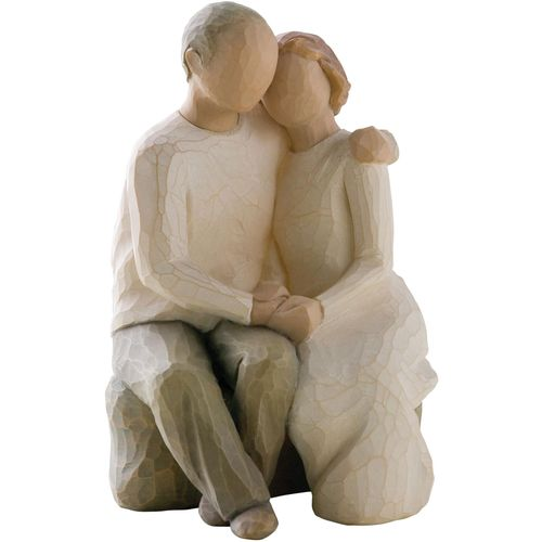 Willow Tree Grandparents with 5 Grandchildren Figurine Gift Set Family Group 26184 26223 26226 26227