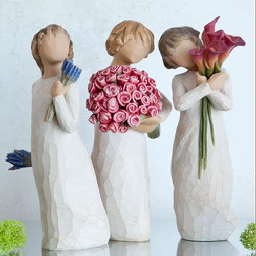 Willow Tree Three Sisters Figurine Gift Set 26465 27181 27159