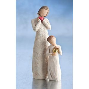 Willow Tree Figurines Set Mother and Daughter Option 1