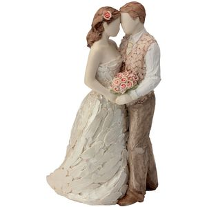 More Than Words Celebration Bride & Groom Figurine