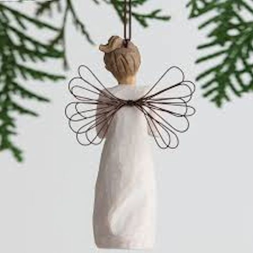 Willow Tree You`re the Best Hanging Angel Ornament 27468