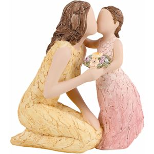 More Than Words Love You Forever Figurine (Mother & Daughter) Exclusive