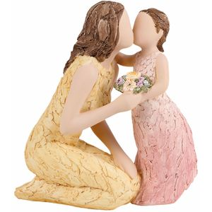 More Than Words Love You Forever Mother & Daughter Figurine