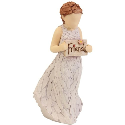 Arora Design Girls holding friends plaque Figurine
