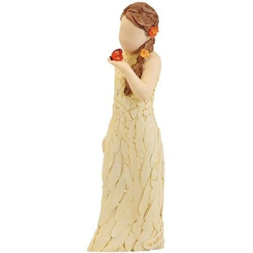 Arora Design Special Girl holding butterfly More Than Words Figurine