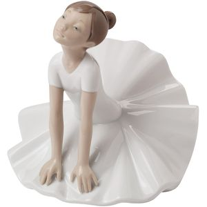 Nao Thinking Pose Ballerina Figurine