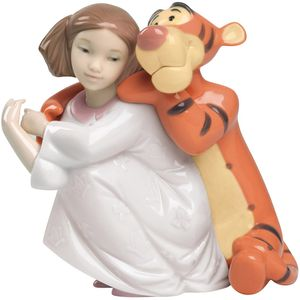 Nao Disney Hugs with Tigger Figurine