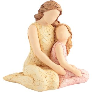 More Than Words A Mothers Love Figurine (Mother & Daughter)