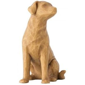 Willow Tree Love My Dog Figurine (Light)