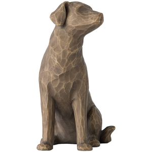 Willow Tree Love My Dog Figurine (Dark)