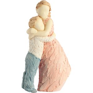More Than Words Side by Side Brother & Sister Figurine