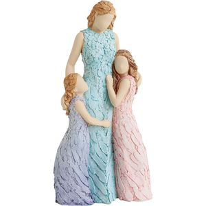More Than Words Special Bond Figurine (Mother & Daughters)
