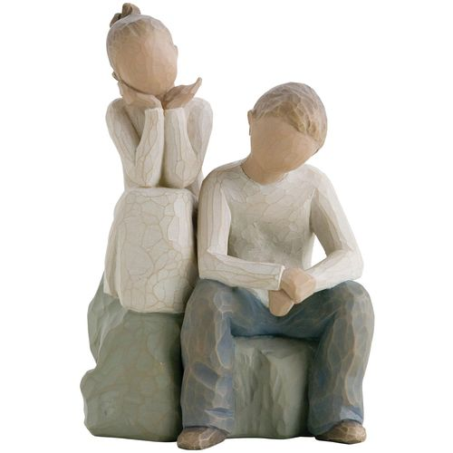 Willow Tree Mother with 3 Children & a Cat Gift Set 26169 26187 27684