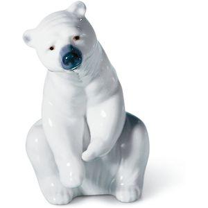 Lladro Resting Polar Bear Figurine