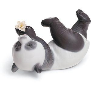 Lladro A Joyful Panda Figurine