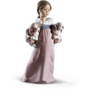 Lladro Arms Full of Love Figurine