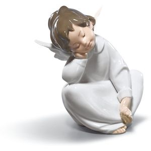 Lladro Dreaming Angel Figurine