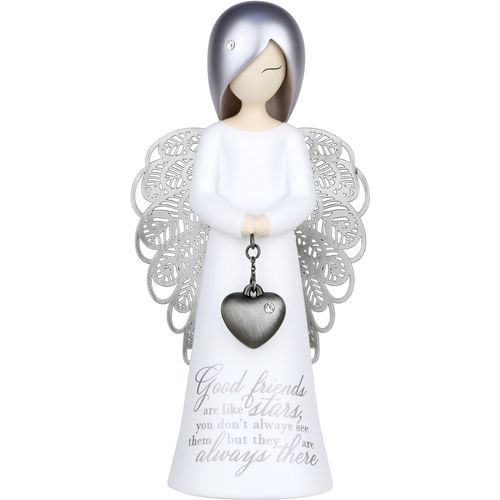 You Are An Angel Figurine - Good friends are like stars, you don't always see them, but they are alw