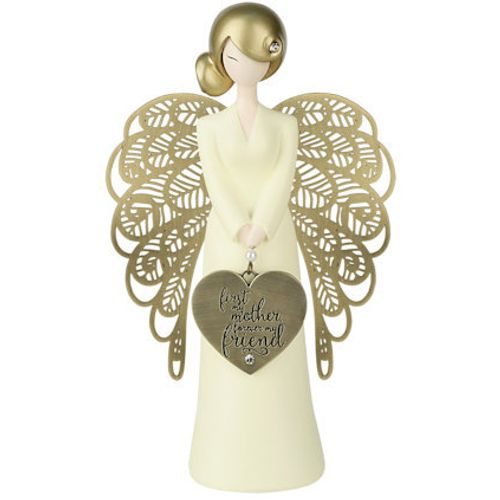 You Are An Angel Figurine - First My Mother Forever My Friend AN007