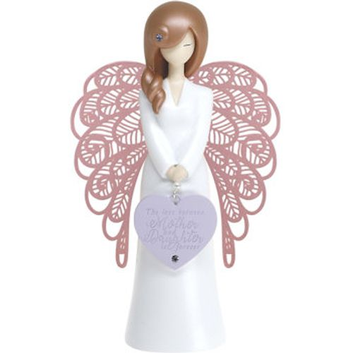 You Are An Angel Figurine - The Love Between Mother and Daughter Is Forever AN008