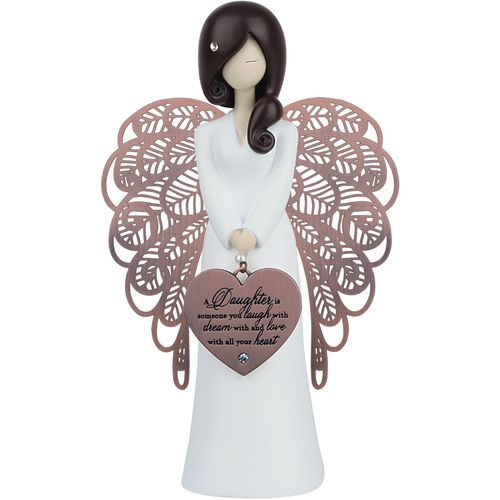 You Are An Angel Figurine  - A Daughter is someone you laugh with dream with and love with all your