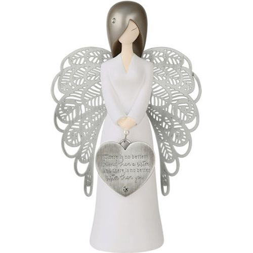 You Are An Angel Figurine - There Is No Better Friend Than A Sister And There Is No Better Sister Th