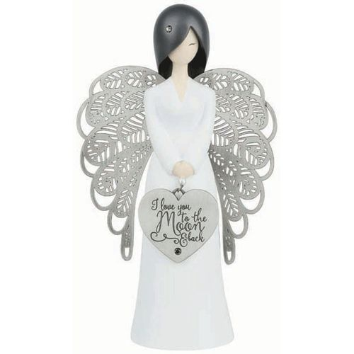You Are An Angel Figurine - I Love You To The Moon & Back AN015