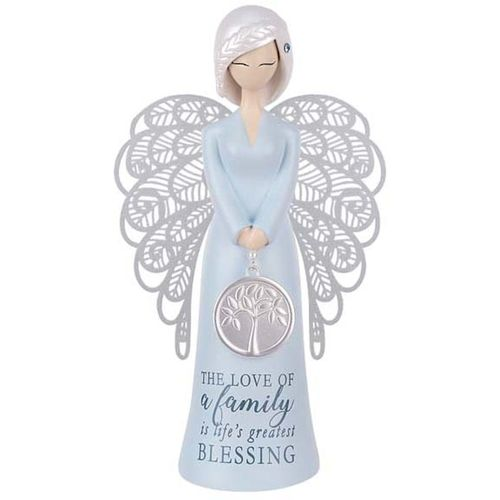 You Are An Angel Figurine - The Love of a family is life's greatest blessing ALF003