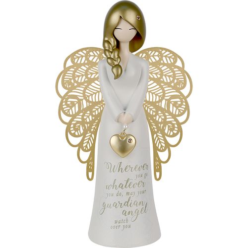 You Are An Angel Figurine - Wherever you go, whatever you do, may your guardian Angel watch over you