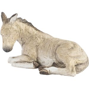 More Than Words Donkey Nativity Figurine
