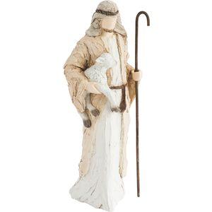 More Than Words Nativity Shepherd Figurine
