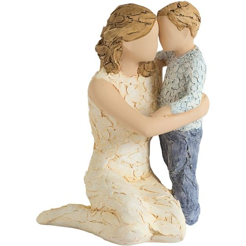 More Than Words Figurine Mother & Son Ornament Exclusive to Crusader Gifts