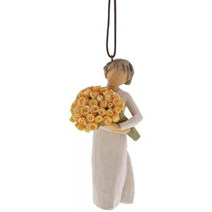 Willow Tree Good Cheer Hanging Ornament