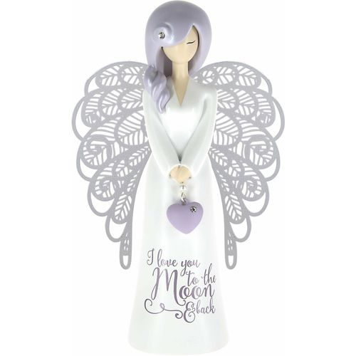 You Are An Angel Figurine - I Love You To The Moon & Back AN026