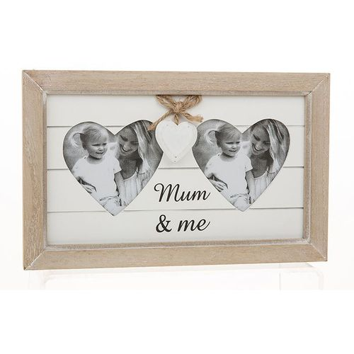 Willow Tree Mother & Daughter Figurines with Mum & Me Photo Frame Set