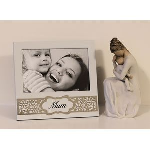 Willow Tree Figurine with Mum Photo Frame Set