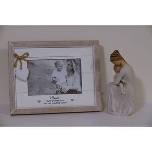 Willow Tree Figurine & Mum Photo Frame Set (34120)