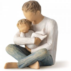Willow Tree Little One Figurine (Father & Child)