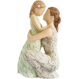 More Than Words Tender Love (Mother & Daughter) Figurine Crusader Exclusive