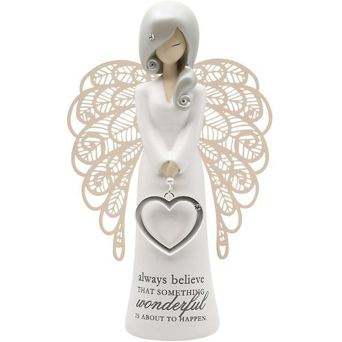 You Are An Angel Figurine -  Always Believe That Someting Wonderful Is About To Happen AN019