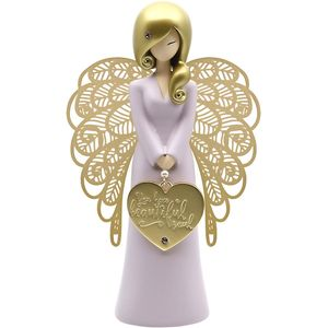 You Are An Angel Figurine - Beautiful Soul (Gold)