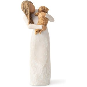 Willow Tree Adorable You Figurine (Golden Dog)