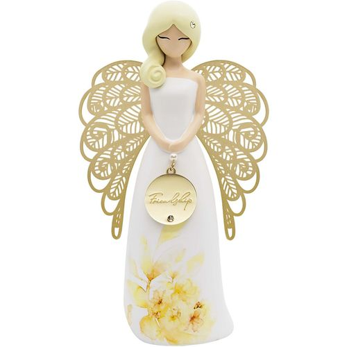 You Are An Angel Floral Figurine - Friendship AN034