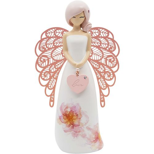 You Are An Angel Floral Figurine - Love AN037