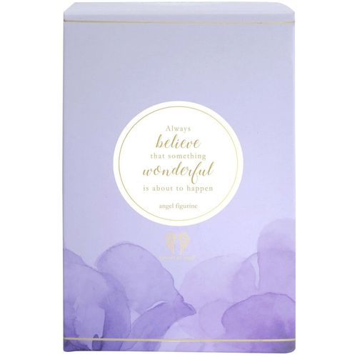 You Are An Angel Floral Figurine - Always Believe AN042