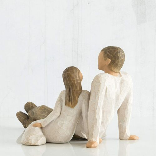 Willow Tree Father and Daughter Figurine 26031